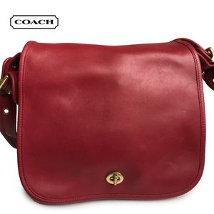 Vintage Coach Bag Stewardess 9125 Red Costa Rica